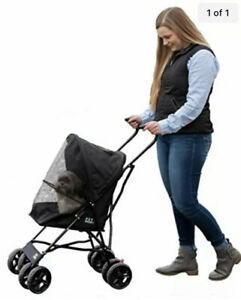 Pet Gear Travel Lite Plus Stroller, Compact, Easy Fold, No Assembly Required