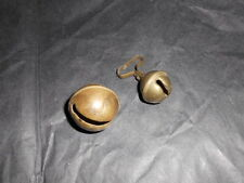 Lot de 2 Grelot ancien bronze  diametre 35mm et 24mm