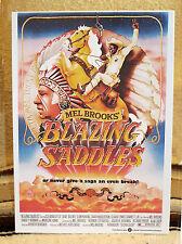 """Blazing Saddles"" Gene Wilder & Mel Brooks Movie PosterTabletop Display Standee"