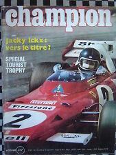 revue CHAMPION 1971 FORMULE 1 / HELMUT MARKO / TOURIST TROPHY / BSA 650