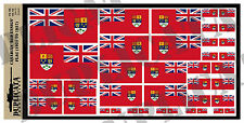 Diorama Accessory - Canadian Red Ensign Flag (1921-57) - 1/72, 1/48, 1/32, 1/35