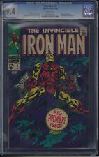 Iron Man #1 CGC 9.4 1968