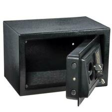 Digital Steel Safe Electronic Locking Money  Strongbox Cash Box Key Black
