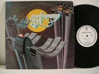 RARE PROMO WHITE LABEL PRESS KIT Mahogany rush IV LP original