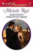 Marchese's Forgotten Bride (Harlequin Presents), Michelle Reid, 0373128991, Book