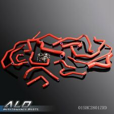 UK Gplus Silicone Radiator Coolant Hose Kit For Renault 5gt R5 Turbo 85-91 15pcs
