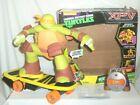 jakks TMNT Teenage Mutant Ninja Turtles R/C Skateboarding Michaelangelo Figure