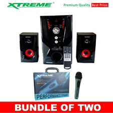 Xtreme XP-2300 Multimedia Subwoofer Speaker Bundle with Xtreme XM-93A Profession