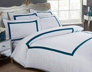 Hotel Style Dorchester 300 Thread Count 100% Egyptian Cotton Duver Cover Set