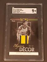 2018 Noir Elegant Decor GOLD 10/10 Mint Patch SGC 9 Aaron Holiday RC Rookie