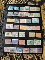 Saudi Arabia Stamp Collection - Pre 1970 - Used - Classics - 2 Scans - B94