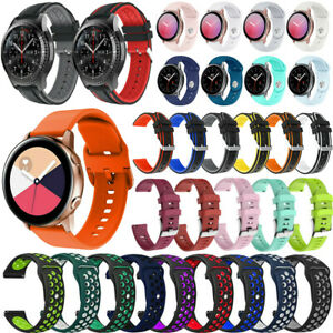 For Samsung Galaxy Watch 4 Active 2 40mm/44mm Sport Silicone Band Strap Bracelet
