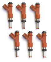 6 FUEL INJECTORS for TOYOTA RAV 4 GSA33 2GRFE 3.5L V6 07-13 INJECTOR