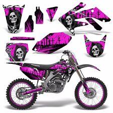 Full Graphics Kit Honda CRF250R Dirt Bike Decals CRF 250 R CRF250 06-09 REAP P