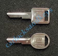 1968, 1972, 1976, 1980 GM Chevrolet Chevy Corvette Key blanks