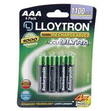 Lloytron NIMH AccuPower AAA Rechargeable Battery - AAA 1100mAh 4 Pack (B1004)