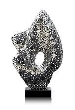 Excepcional acero inox. Escultura en Alto brillo pulido. Alta calidad