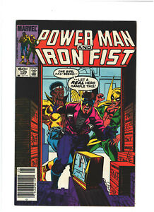 Power Man and Iron Fist #105 FN+ 6.5 Newsstand Marvel Comics Copper Age 1984