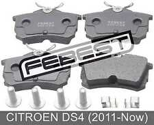 Pad Kit, Disc Brake, Rear - Kit For Citroen Ds4 (2011-Now)