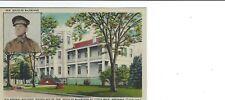 Ar Arkansas Little Rock Old Arsenal Bldg Gen Douglas MacArthur Postcard Linen 1E
