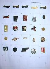 LOT of 25 pin badges - Ex Yugoslavia, Tito, Partizans, Communist party, etc.