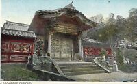 POSTCARD   JAPAN  A Temple