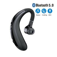 Wireless Ear Hook Bluetooth Earphone 5.0 Earbuds For Android IOS With Microphone