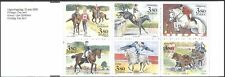 Sweden 1990 Horses/Equestrian Sports/Animals/Nature/Transport 6v bklt (n43831)