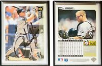 Ron Karkovice Signed 1996 Collector's Choice #508 Card Chicago White Sox Auto