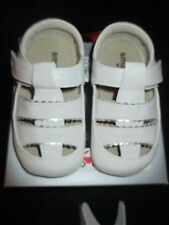 See Kai Run Smaller Brook White Baby Shoes Sandals  18 24 Months    NEW