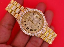 Rolex President Men's Day/Date 18K Yellow Gold 22 Cts Diamonds All Over ICED OUT