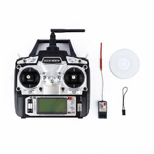 Flysky FS-T6 Radio Control 2.4G 6 Channel Transmitter+Receiver RC Helicopter HOT
