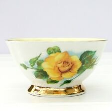 Vintage Paragon Wheatcroft Famous Roses Bone China Sugar Bowl Mme Ch Sauvage