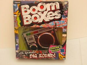Boom Boxes Little Speakers Big Sound Bluetooth Collectors Edition Style #888