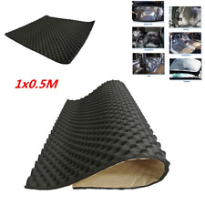 20mm 0.5x1M Car Sound Insulation Absorption Heatproof Deadener Mat Self-Adhesive