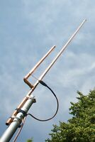 Premium KB9VBR J-Pole Base Antenna 2 meter dual band amateur ham radio scanner