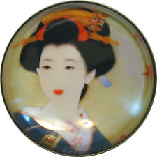 Geisha Buttons Set of 6 Hand Printed *Special Price* FREE US SHIPPING