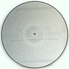 Picture Vinyl The Real Thing You To Me Are Everything    Rare  Limited Edition