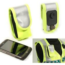 Protec Paramedic yellow universal mobile phone holder
