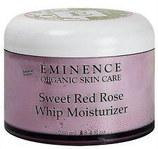 Eminence Sweet Red Rose Whip Moisturizer 8.4oz(250ml) Sensitive Skin Fresh New