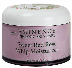 Eminence Sweet Red Rose Whip Moisturizer 8.4oz(250ml) Sensitive Skin Fresh New