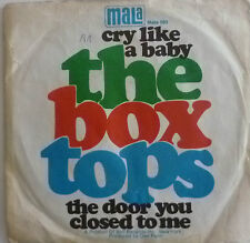"""7"""" 1968 BEAT! BOX TOPS: Cry Like a Baby // VG +? \ \"""