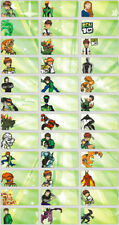 120 Ben10 Pic personalised name label (Small size)
