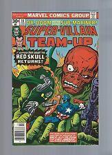 Super-Villain Team-Up 8 9 10 11 Avengers Dr Doom Sub-Mariner Red Skull Capt Amer