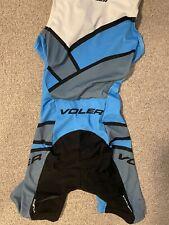Voler Tri Triathlon Sleeveless Cycling Tri Suit Blue White Women's Size xs