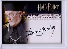 Harry Potter Order Phoenix Autograph Card Robert Hardy Cornelius Fudge KEC