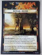 TRIKING GAMES - ANACHRONISM CARD - DONAR EICHE