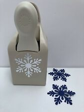 Martha Stewart Crafts SCANDINAVIAN SNOWFLAKE Punch HTF Cards Paper Crafts Winter