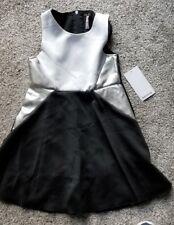 Kensie Cheerleading Cheer Uniform, 12 Girls, Black White Silver, Halloween!