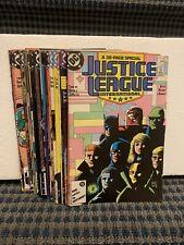 1987-89 Justice League International Comics (Lot of 26) Copper, Dc #7 to 32 C488